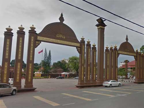 Pintu Gerbang Kota Sultan Ismail Petra
