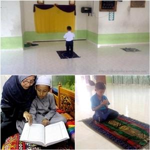 Image result for Istiqomah Budak 7 Tahun, Tidak Tinggal Solat Fardhu dan Dhuha