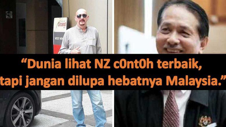 """""""Dunia lihat NZ c0nt0h terbaik, tapi jangan dilupa hebatnya Malaysia."""" – Penganalisa krisis"""