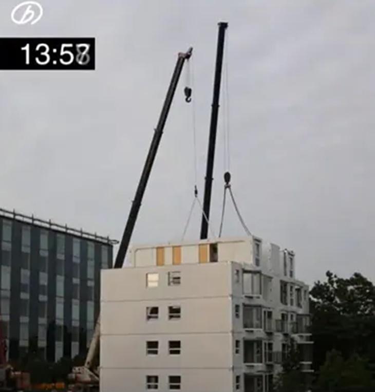 Tonton Proses Bagaimana Bangunan 10 Tingkat Ini Dibina Hanya Dalam 28 Jam Sahaja 2